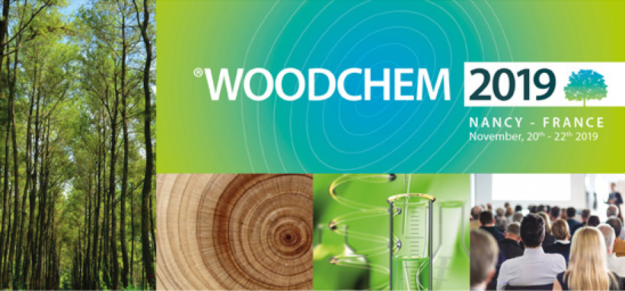 Woodchem 2019 - 20-22 Nov 2019 - Nancy, France